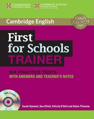 cambridge first trainer  Cambridge First for Schools Trainer Six Practice Tests with Answers ...