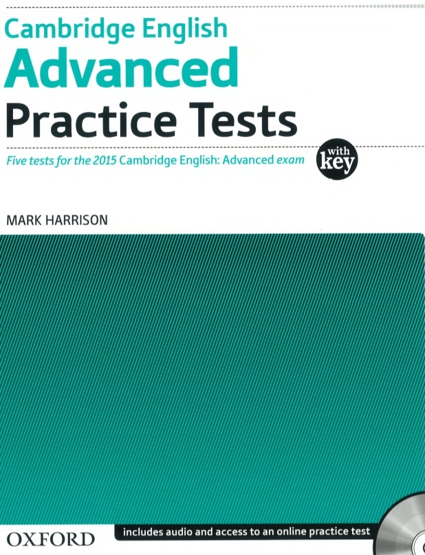 Cambridge English Advanced Practice Tests (Oxford) with Key and